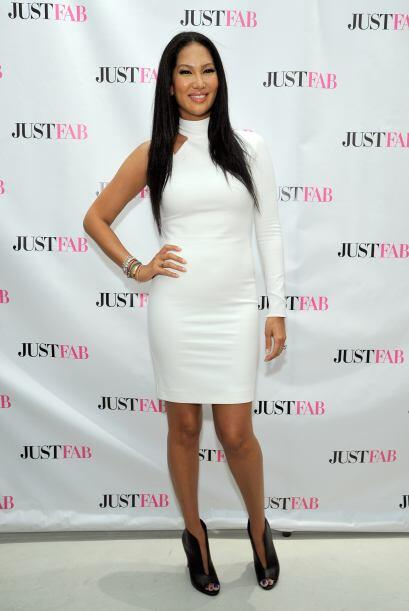 Otra experta de la moda, Kimora Lee Simmons, sabe que un minivestido con...
