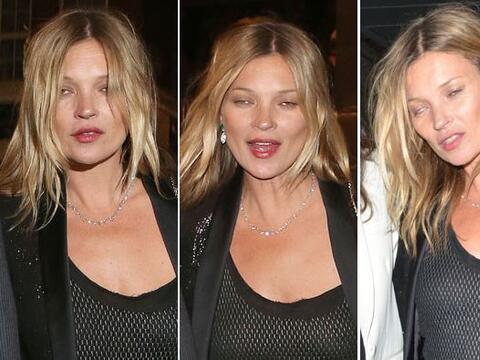 ¡Salud, Kate Moss!  Aquí los videos más chismosos.