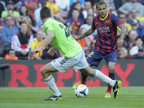 A una semana de jugar el 'derby' español, el Barcelona recibi&oac...