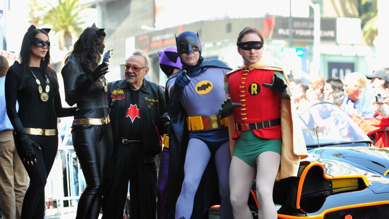 El creador del Batmobile, George Barris