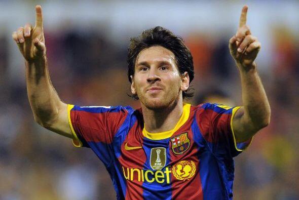 Parece raro pero es verdad, Messi sólo alcanzó el cuarto puesto en las v...