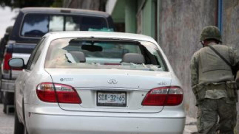 Bases de taxis han sido atacadas en los úlitmos días en la ciudad de Mon...