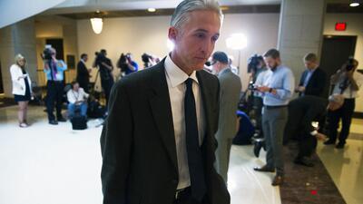 Trey Gowdy, presidente del Comité que investiga los ataques en Benghazi