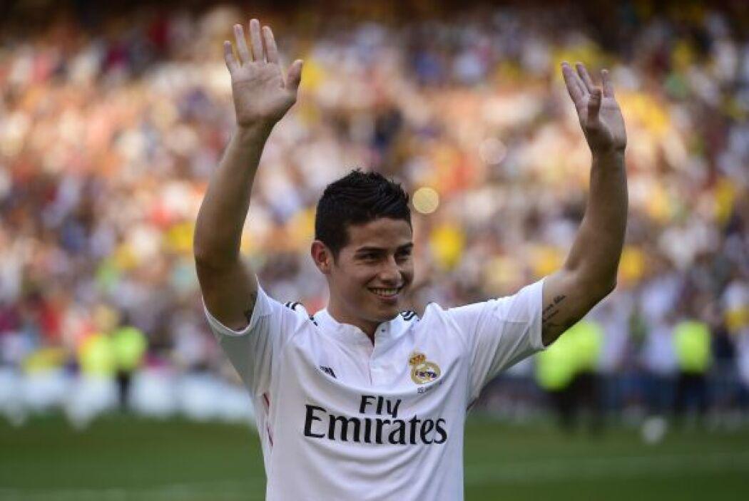 El colombiano agradecía todo el cariño a la afición que se dio cita en e...