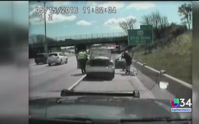 Conductora podría pasar años en la cárcel por chocar una patrulla durant...