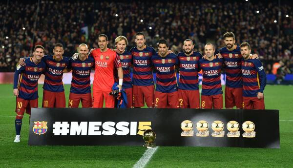 Messi no piensa ponerse otra playera en Europa que no sea la del Barça,
