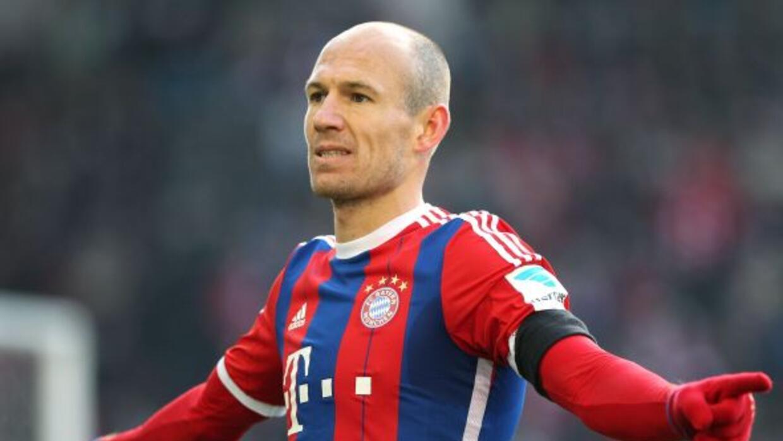 El extremo holandés marcó un golazo en la victoria del Bayern.