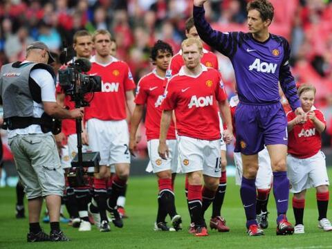 Manchester United encaró la última fecha de la Liga Premie...