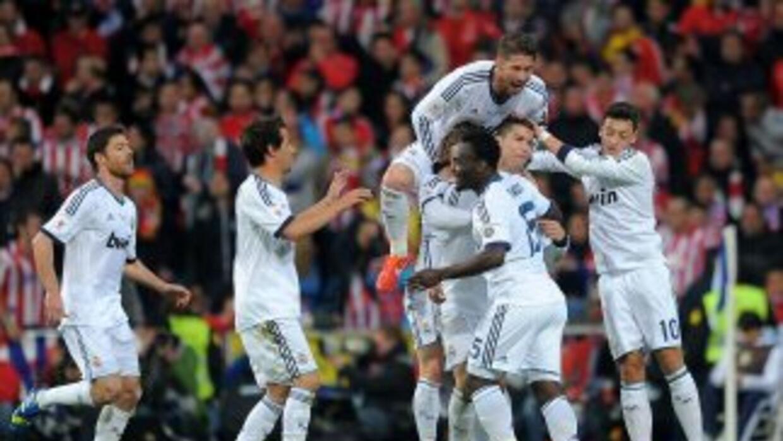 Los madridistas se hicieron conel primer puesto entre los clubes deporti...