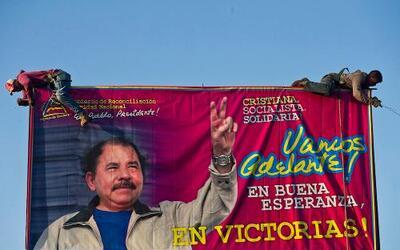 Daniel Ortega busca su tercera reelección