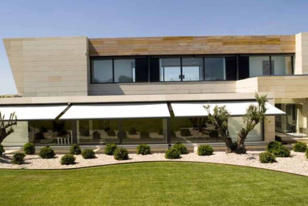 Ésta es la casa que el arquitecto Joaquín Torres hizo para Alejandro Sanz.