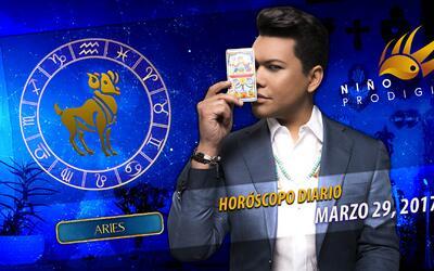 Niño Prodigio - Aries 29 de marzo, 2017