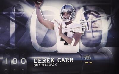 Top 100 Jugadores 2016: (Lugar 100) QB Derek Carr - Raiders