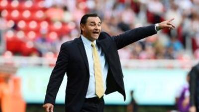 El estratega de Chivas afirmó que el marcar tres goles fue muy importante.