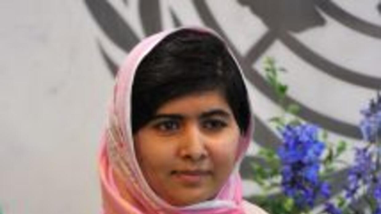 La joven paquistaní Malala Yousafzai, de 16 años.