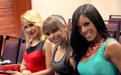 Chicas guerreras llegaron a las audiciones en Puerto Rico