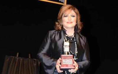 Angélica María fue nombrada como 'La Mujer del Año'