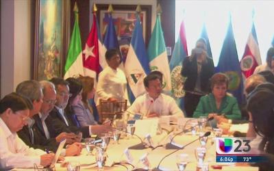 En manos de cancilleres centroamericanos el futuro de miles de cubanos