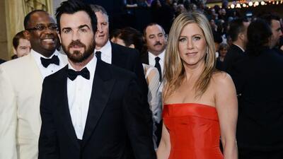 Jennifer Aniston no podía llegar mejor acompañada que de su prometidoJu...