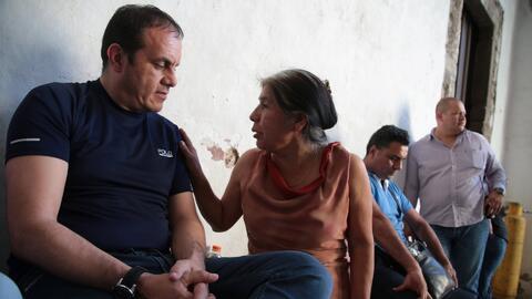 Acompañamos a Cuauhtémoc Blanco en su huelga de hambre