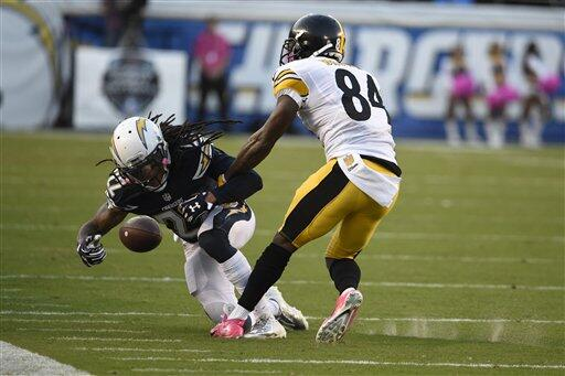 Los Steelers tuvieron triunfo en Lunes por la Noche de 24-20 sobre los S...