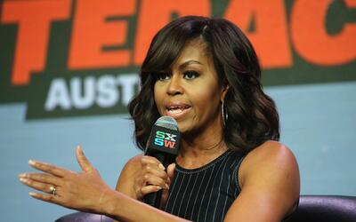 Obama estuvo acompañada de Missy Elliott, Queen Latifah, Diane Wa...