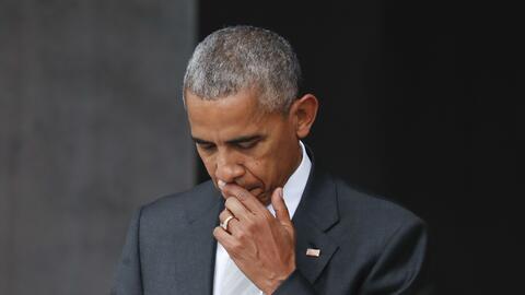 El presidente Barack Obama en la inaugruación del Museo de Historia y Cu...