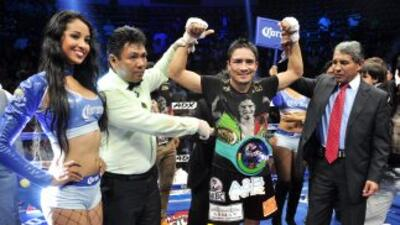 'Gato' Guerrero ganó a Takahiro Shigee (Foto: Canelo Promotions).