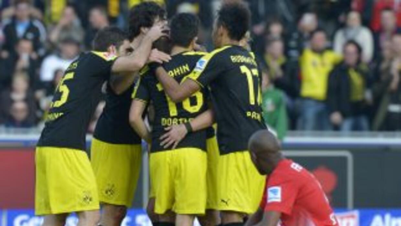 Un gol de Sebastian Kehl le dio el triunfo al Dortmund.