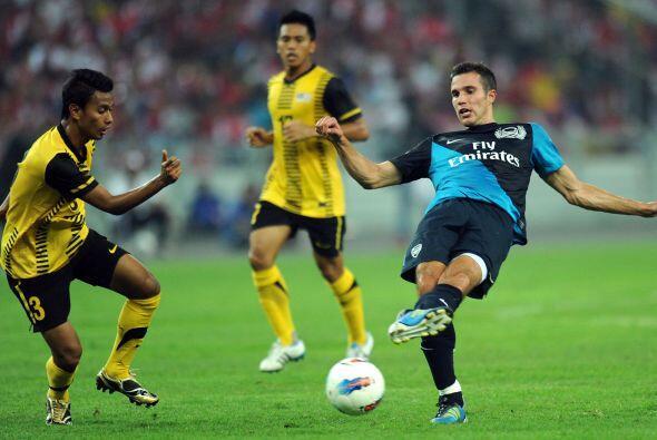 Pero la calidad de las figuras de Arsenal sobresalía.