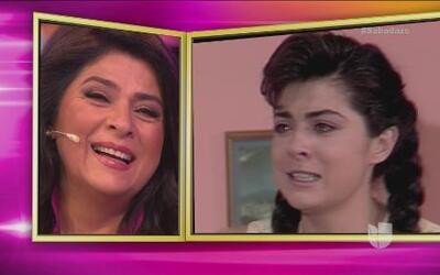 Victoria Ruffo recordó sus inicios en las telenovelas