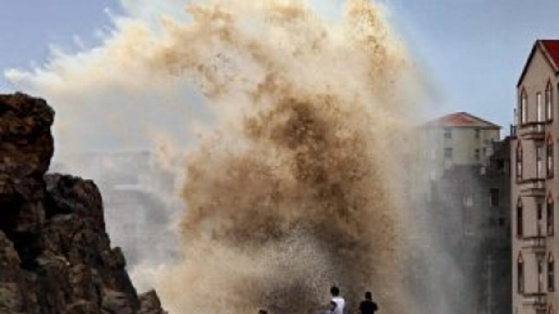 Tifón Soudelor en China.