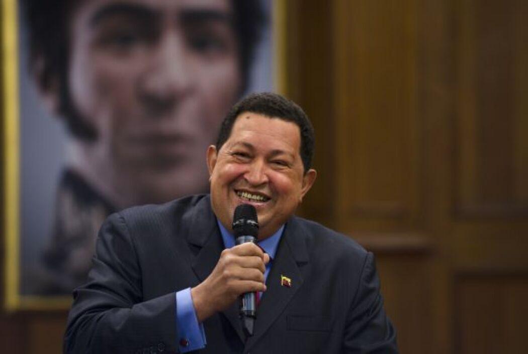 7 de julio 2012 Chávez regresó a Caracas tras pasar nueve días en Cuba.