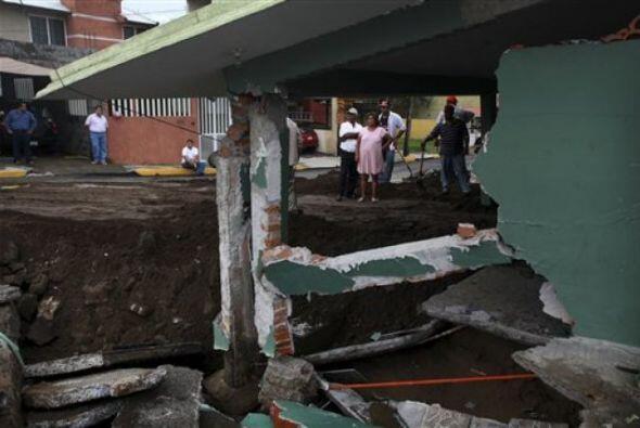 El Servicio Meteorológico Nacional mexicano advirtió que p...