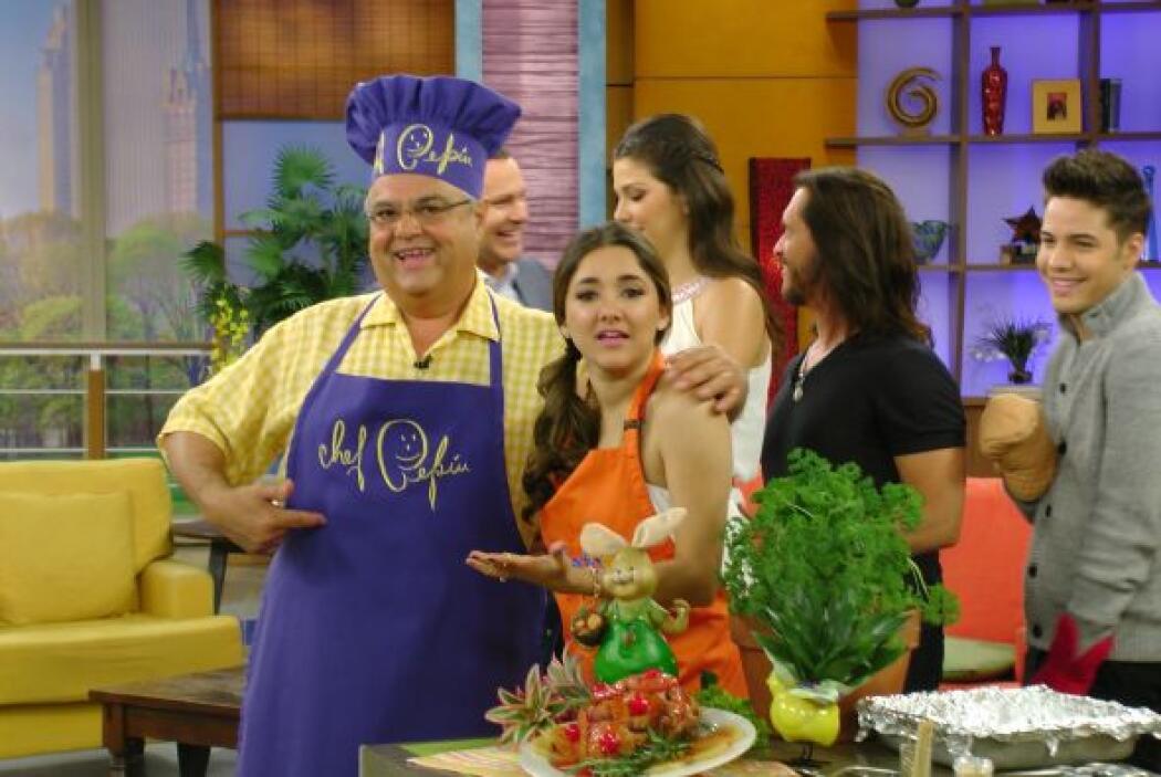 Además, Sherlyn demostró que tiene talento natural en la cocina. Su mari...