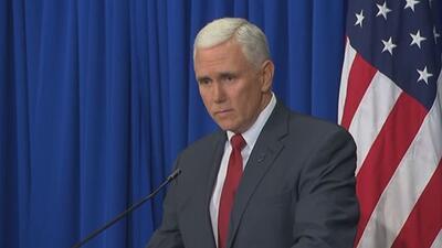 """Gobernador de Indiana: """"estamos trabajando en el lenguaje"""""""