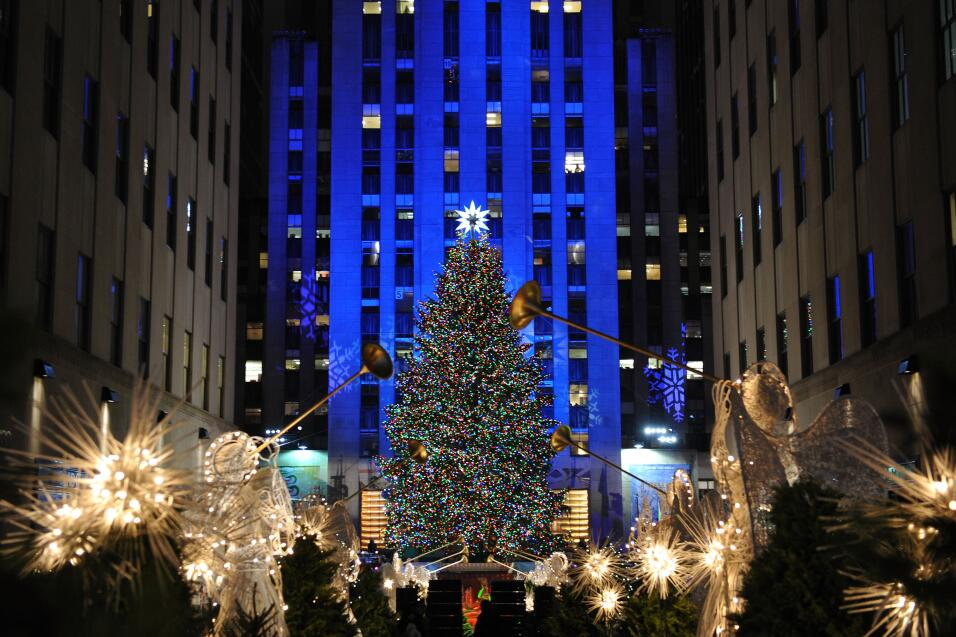 7 datos curiosos sobre el Árbol de Navidad del Rockefeller