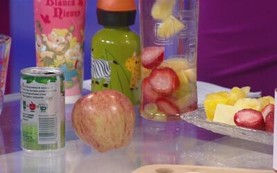 Advierten sobre los riesgos de que los niños tomen jugos, ¿cómo reemplaz...