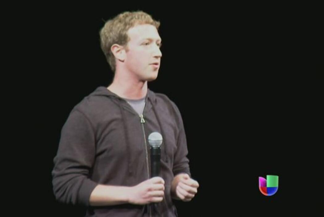 Mark Zuckerberg, el fundador de Facebook, manifestó por primera vez abie...