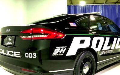 Vehículos híbridos de policía de la marca Ford serán fabricados en Chicago