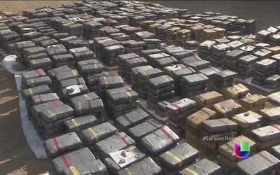 Perú incauta siete toneladas y media de cocaína