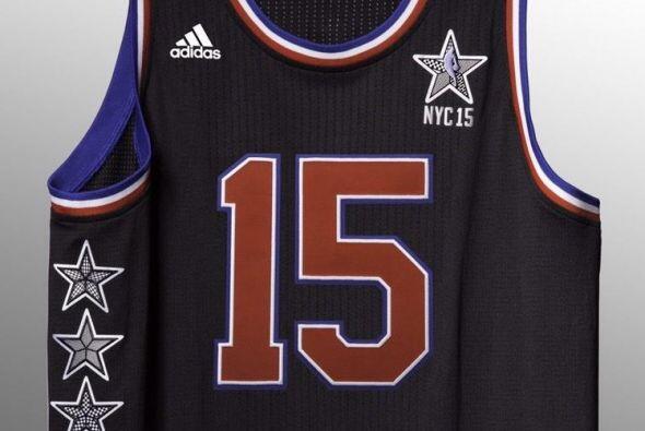 Los uniformes que que se utilizarán en el Juego de las Estrellas...