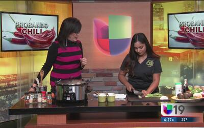 Aprenda a preparar el mejor chili y cocine por una buena causa