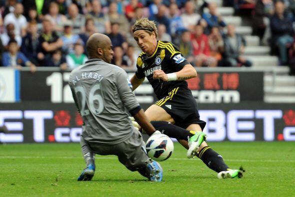 Fernando Torres volvió a tener una actuación medianamente buena, pero so...