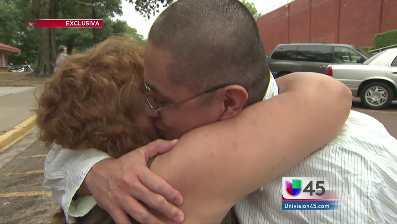 Eduardo Navarro sale de prisión tras 13 años de condena
