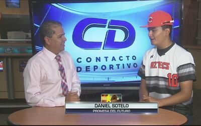 Daniel Sotelo, gran promesa hispana del béisbol