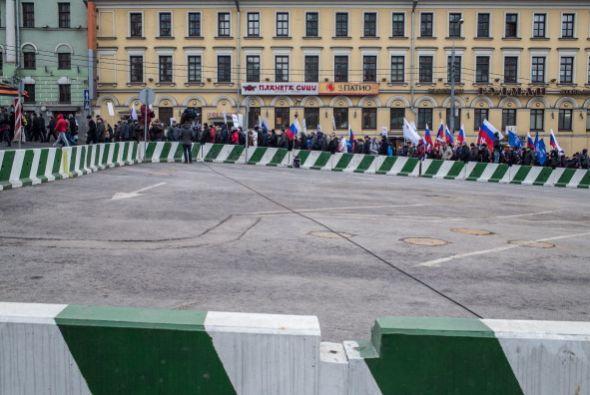 """La intervención del ejército ruso constituye un """"acto..."""