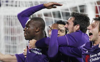 Fiorentina ganó por 2-1 al Inter