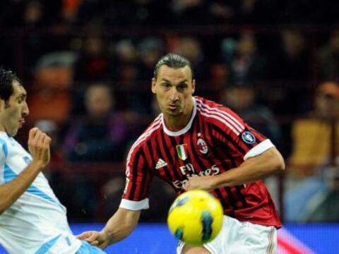 Primero tenemos la goleada del Milán al Catania.
