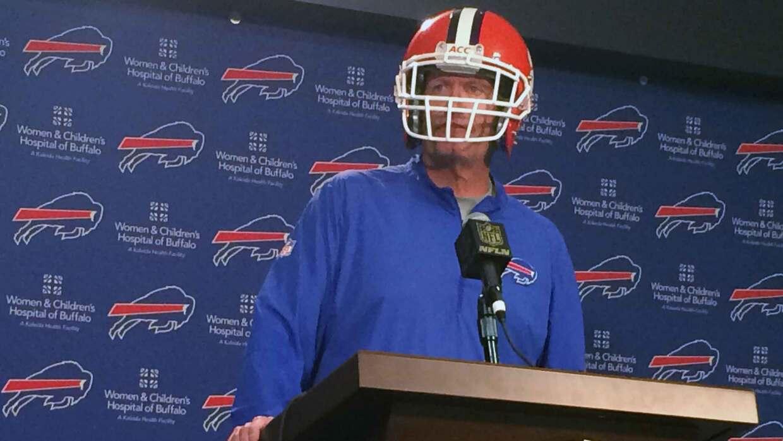 Ahora en los Bills, Rex Ryan no cambia